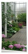 Blooming Conservatory Beach Towel