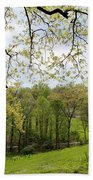 Blooming Landscape Beach Towel