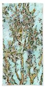 Blooming Passion Beach Towel