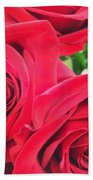 Blooms Of Red Beach Towel