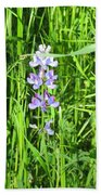 Blossom In The Grass Beach Towel