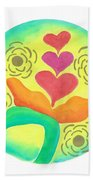 Blossoming From Within Beach Towel