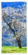 Blossoming Beach Towel