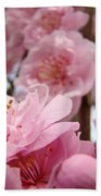 Blossoms Art Print Pink Spring Blossom Baslee Troutman Beach Towel