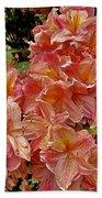 Blossoms In A Summer Shower Beach Sheet