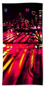 Blossoms Of The Night Beach Towel