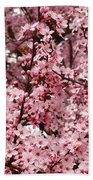 Blossoms Pink Tree Blossoms Giclee Prints Baslee Troutman Beach Towel
