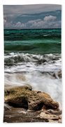 Blowing Rocks Preserve  Beach Towel