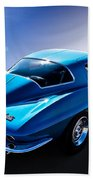 Blue '67  Beach Towel