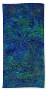 Blue Agate Beach Towel