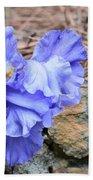 Blue Angel - Iris Beach Towel