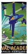 Blue Angels Over Usna Beach Sheet