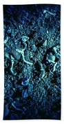 Blue Archaeology Beach Towel