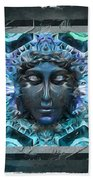 Blue Atheahon  Beach Towel