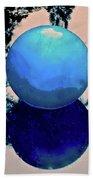 Blue Ball 2 Beach Sheet