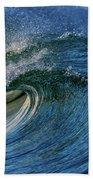 Blue Barrel Beach Towel