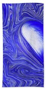 Blue Beats Beach Towel