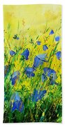Blue Bells  Beach Towel