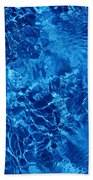 Blue Blue Water Beach Towel