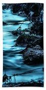 Blue Blur Beach Towel