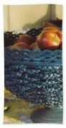 Blue Bowl Beach Towel