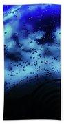 Blue Bubbles Beach Towel