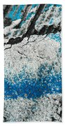 Blue Canyons Colliding Beach Towel
