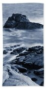 Blue Carmel Beach Towel