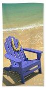 Blue Chair Beach Towel