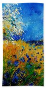 Blue Cornflowers 450108 Beach Towel