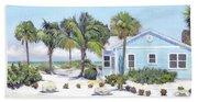Blue Cottage On Siesta Key Beach, Access 3 Beach Towel