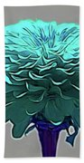 Blue Crown Beach Towel