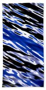 Blue Current Beach Towel