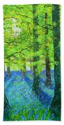 Blue Dawn Beach Towel