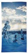 Blue Days Beach Towel