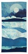 Blue Desert Beach Towel