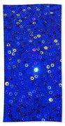 Blue Dress Beach Towel
