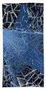 Blue Enmeshed Beach Towel