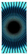 Blue Eye Beach Towel