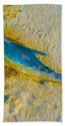 Blue Fish Beach Towel