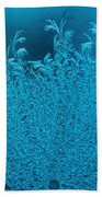 Blue Frost Beach Towel