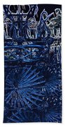 Blue Gate Barcelona Beach Towel