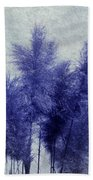 Blue Grass Beach Towel