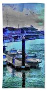 Blue Harbour Beach Towel