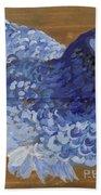 Blue Hen Beach Towel