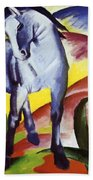 Blue Horse I 1911 Beach Towel