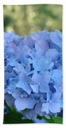 Blue Hydrangea Flower Art Prints Baslee Troutman Beach Towel
