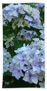 Blue Hydrangeas Art Prints Hydrangea Flowers Giclee Baslee Troutman Beach Towel