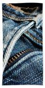 Blue Jeans Beach Sheet