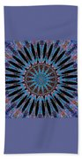 Blue Jewel Starlet Beach Towel